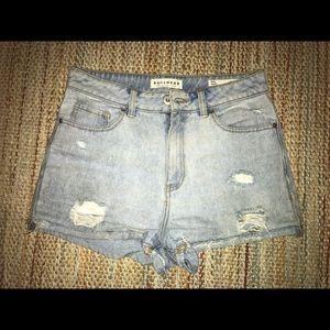 Bullhead Jean Mom Shorts - Short